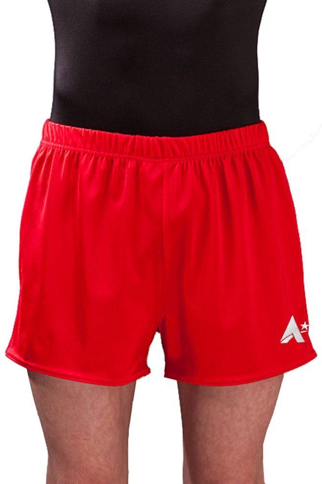 PBC J51 Red boys gym shorts