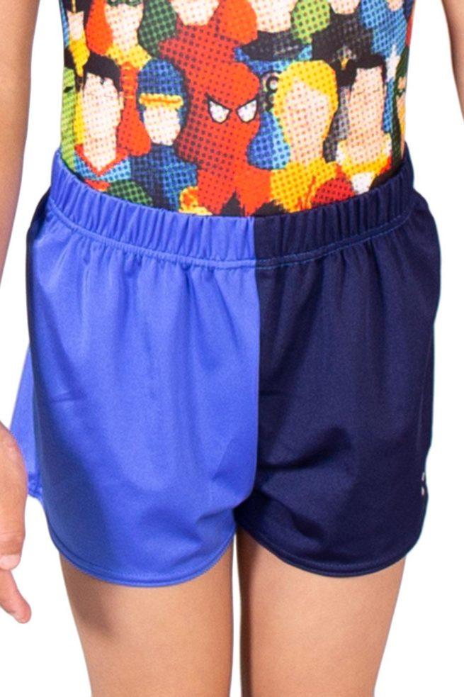 PBCJ00 J00 Navy blue gym shorts front