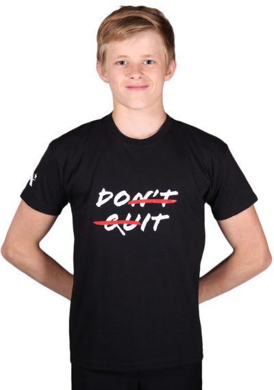ptt 01 quit black printed mens top