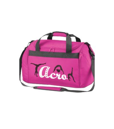 Edited holdall bag pink acro