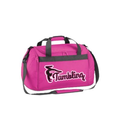 Edited holdall bag pink tumbling