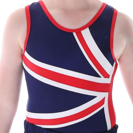 GEORGE BVZ28 UNION JACK MENS BOYS LEOTARD