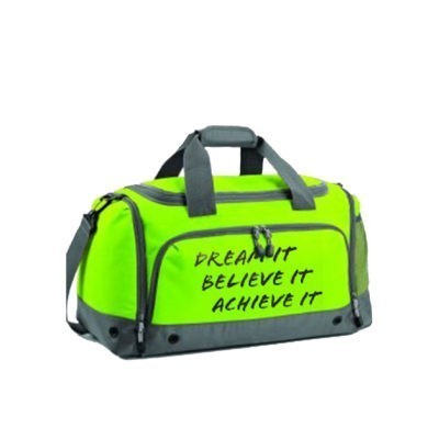 LIME GREEN KIT BAG EDIT