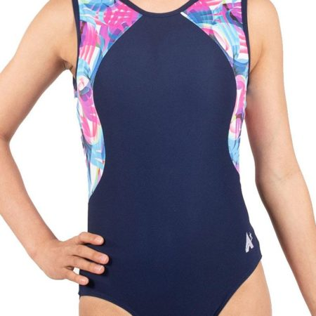 MOTION Z389 BODY CON SIDES IN NAVY AND MOTION