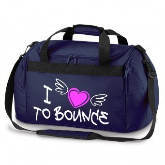 NAVY HOLDALL i love to bounce