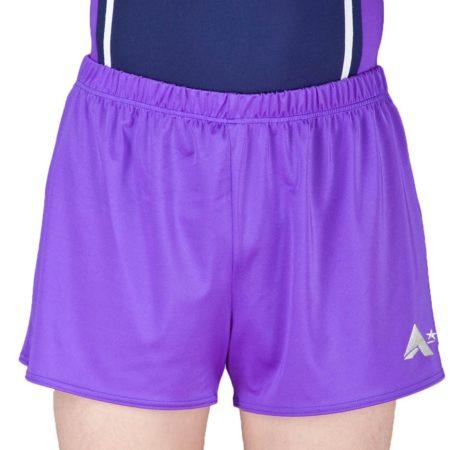 PBC J00 PBC J07 Purple lycra gym shorts boys