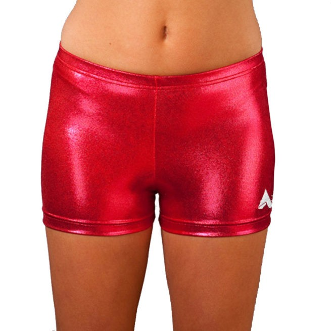 Raspberry Shimmer Ladies Shorts