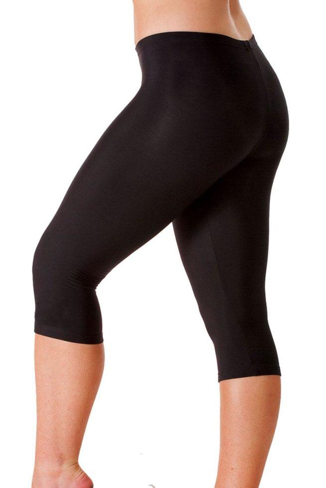 TFLG Tracksuit bottom capri leggings front