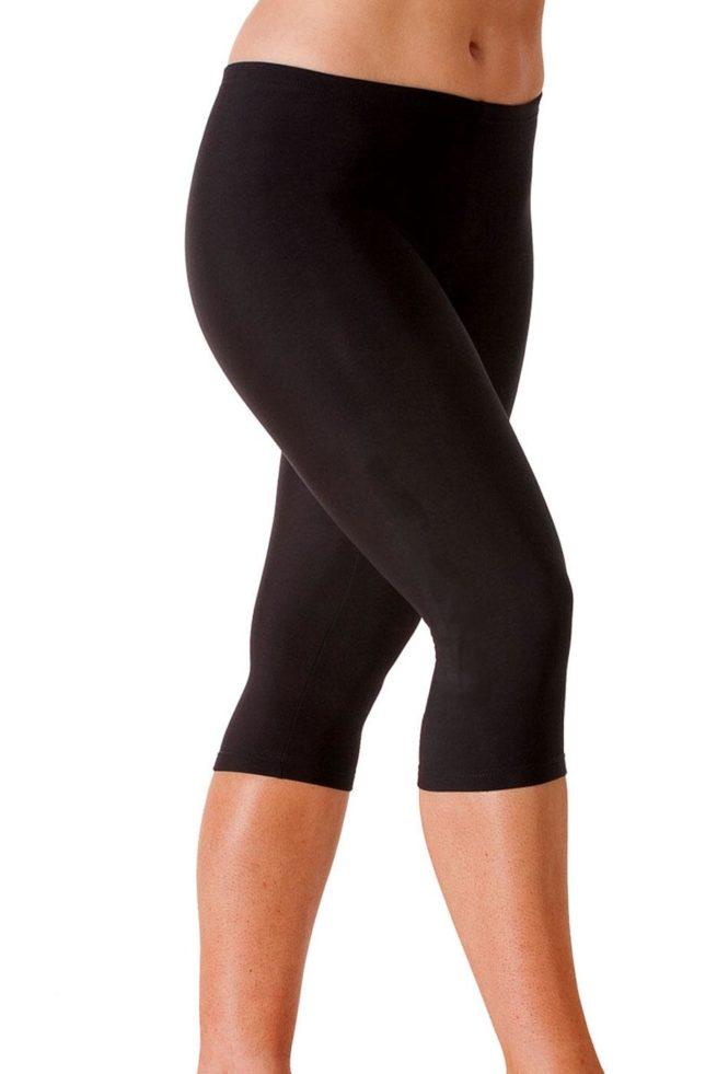 TFLG Tracksuit bottom capri leggings side