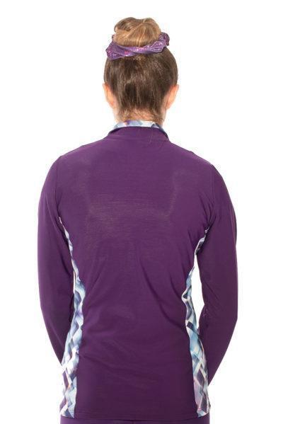 TS12H Purple jacket with pattern sides back