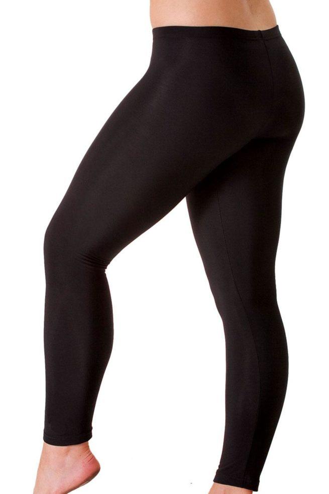 TSLGF Microtex full length leggings side