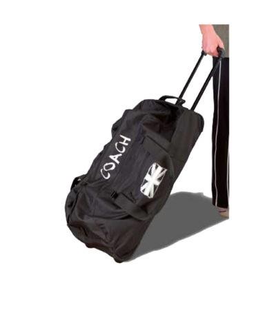 WHEEL 01 GB personalised large capacity black bag