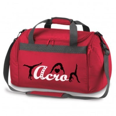 acro red bag