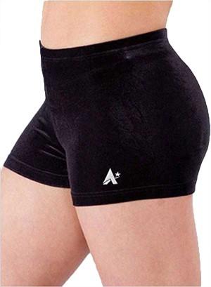 black velour velvet gym shorts hotpants shorties p f01