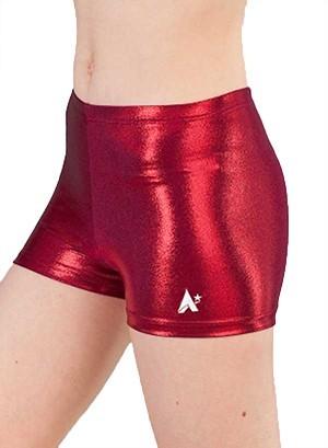 burgundy red girls ladies shorts gymnastics 43fl bw