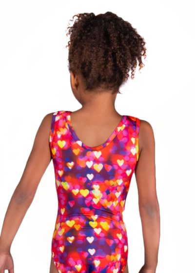 confetti hearts sp l122 patterned fabric girls leotard back Edit 2