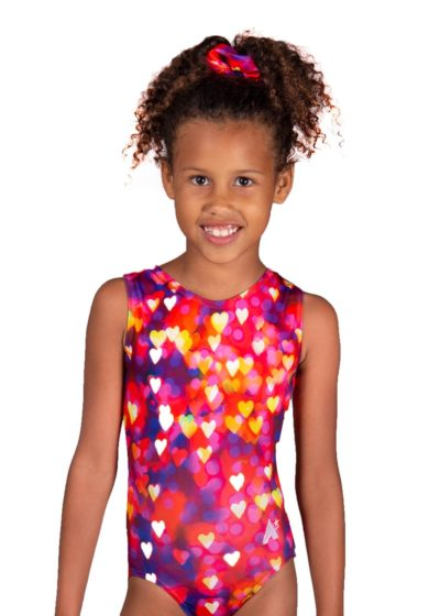 confetti hearts sp l122 patterned fabric girls leotard main Edit