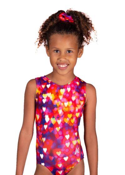 confetti hearts sp l122 patterned fabric girls leotard main Edit
