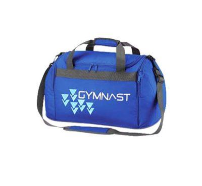 edit royal blue gymnast logo holdaLL BAG 1