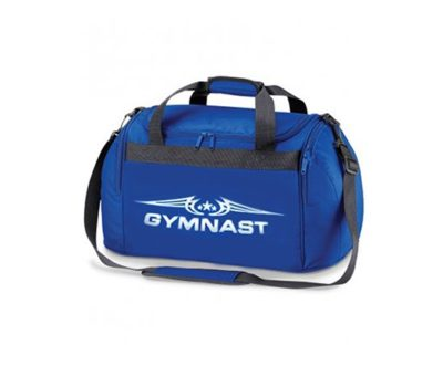 edit royal blue gymnast symbol holdall bag 2