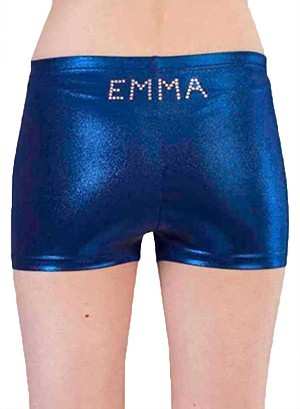 emma diamante named shorts diam gems gymnastics p s02dnn