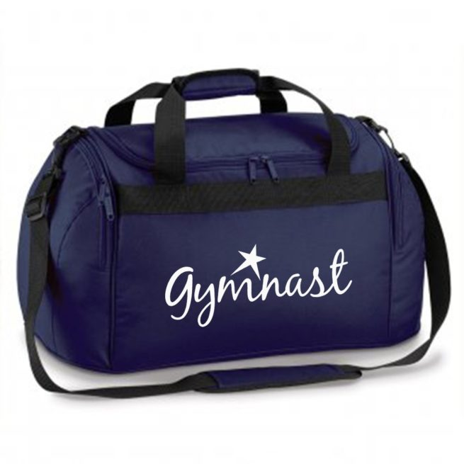 gymnast star black bag