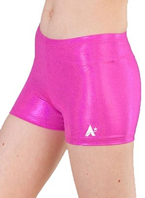 hot pinkj girls shortied gymnastics uk