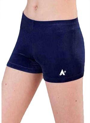 navy velour girls gym shorts velvet p f02 yovc 6t