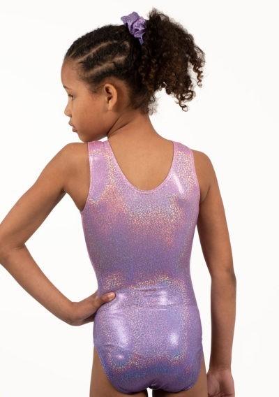 ombre leotard pink gymnastics leotard