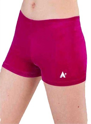 pink girls ladies gymnastics shorts p f05 6h58 gi 1