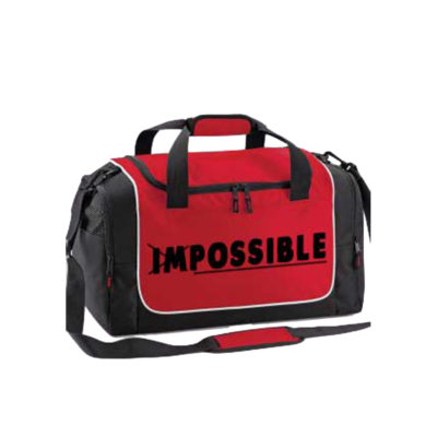 red holdall impossible