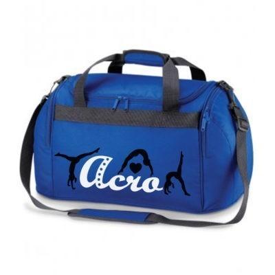 royal blue acro bag