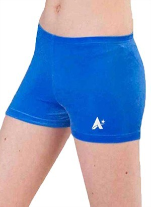 royal blue velour velvet shorts gymnastics p f23 h0w6 6y 1