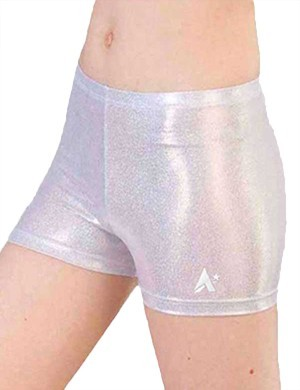 silver hologram shorts foil p s69 lik3 qi