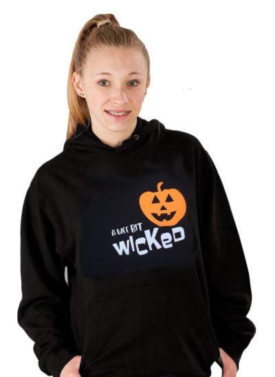 a wee bit wicked hoodie