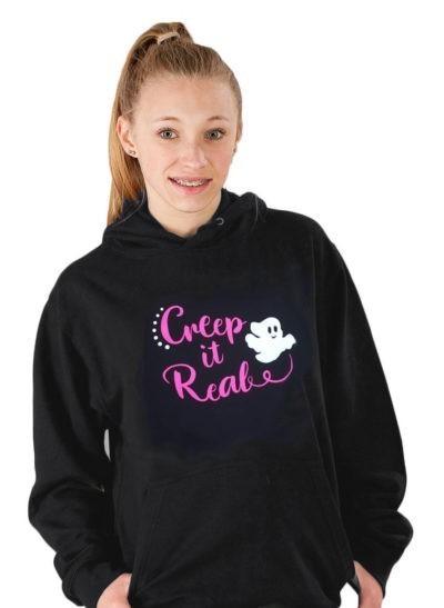 creep it real hoodie