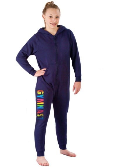 1 FRONT NAVY RAINBOW GYMNAT