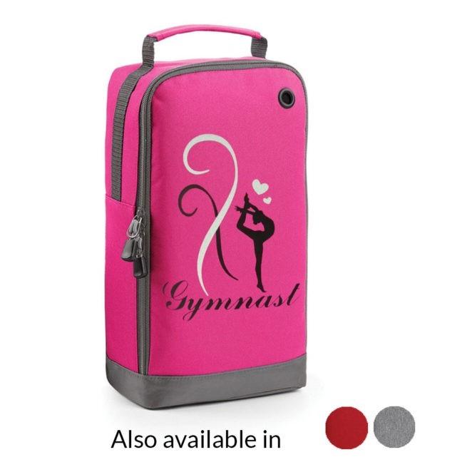 Shoe bag gymnastics pink
