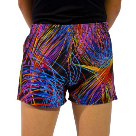 bright sparks shorts back
