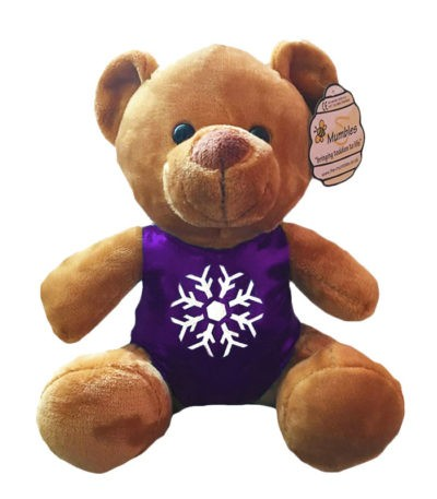 bumbles bear purple snowflake 2