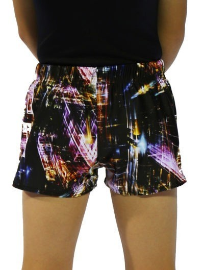 city shorts back