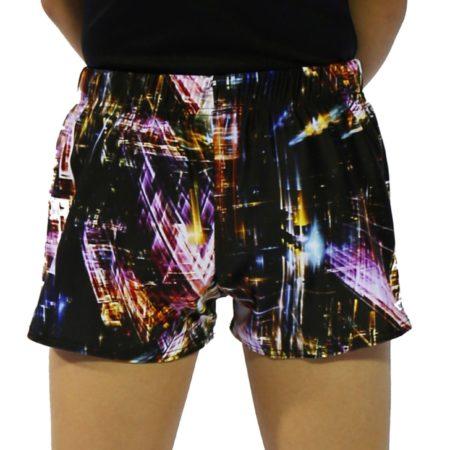 city shorts back