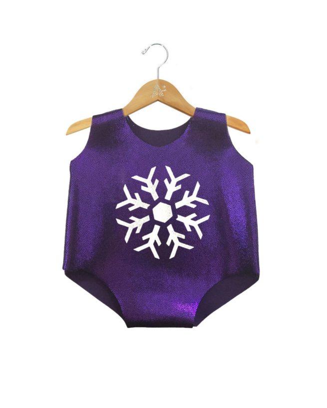 purple leo hangingsnowflake