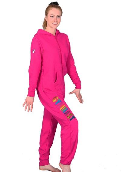 rainbow pink gymnast