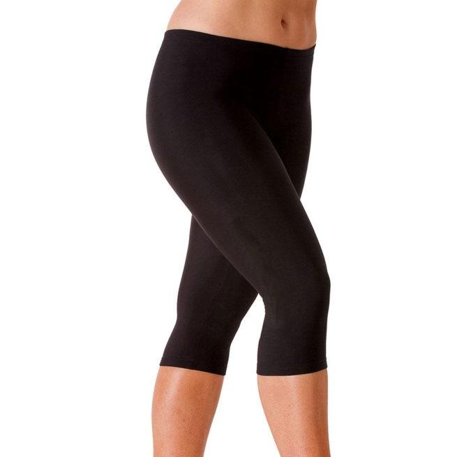 TFLG Tracksuit bottom capri leggings workout gymnastics legging