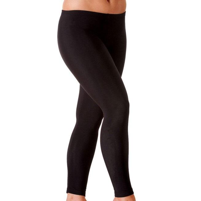 TSLGF Microtex full length leggings workout running leggings
