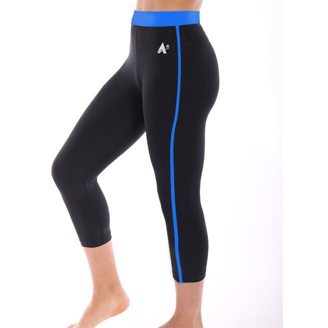 black workout leggings for gymnastics and dance