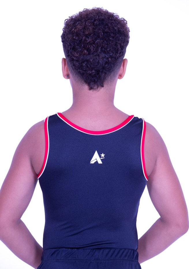 BVBJ01 J51PNN black training cheap leotard boys