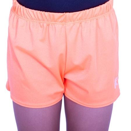PBC J54 flo orange shorts boys trampoline and gym shorts