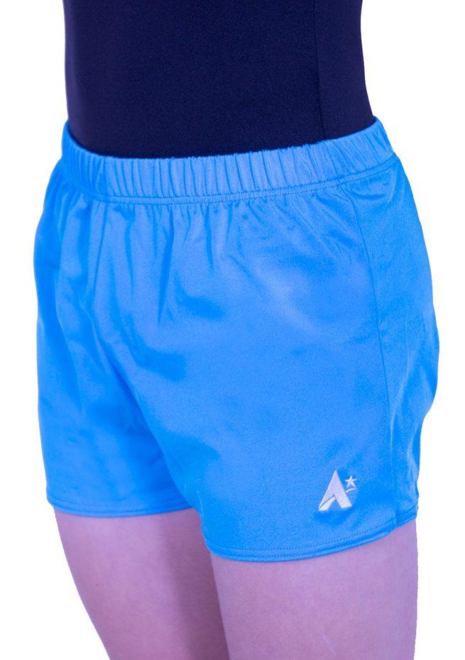 boys gym gymnastics shorts blue